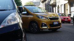Peugeot 108: la prova del parcheggio