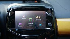 Peugeot 108: touchscreen da 7 pollici