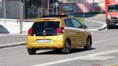 Peugeot 108: vista posteriore