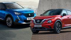 Peugeot 2008 e Nissan Juke 2020 a confronto: il video   - Immagine: 2
