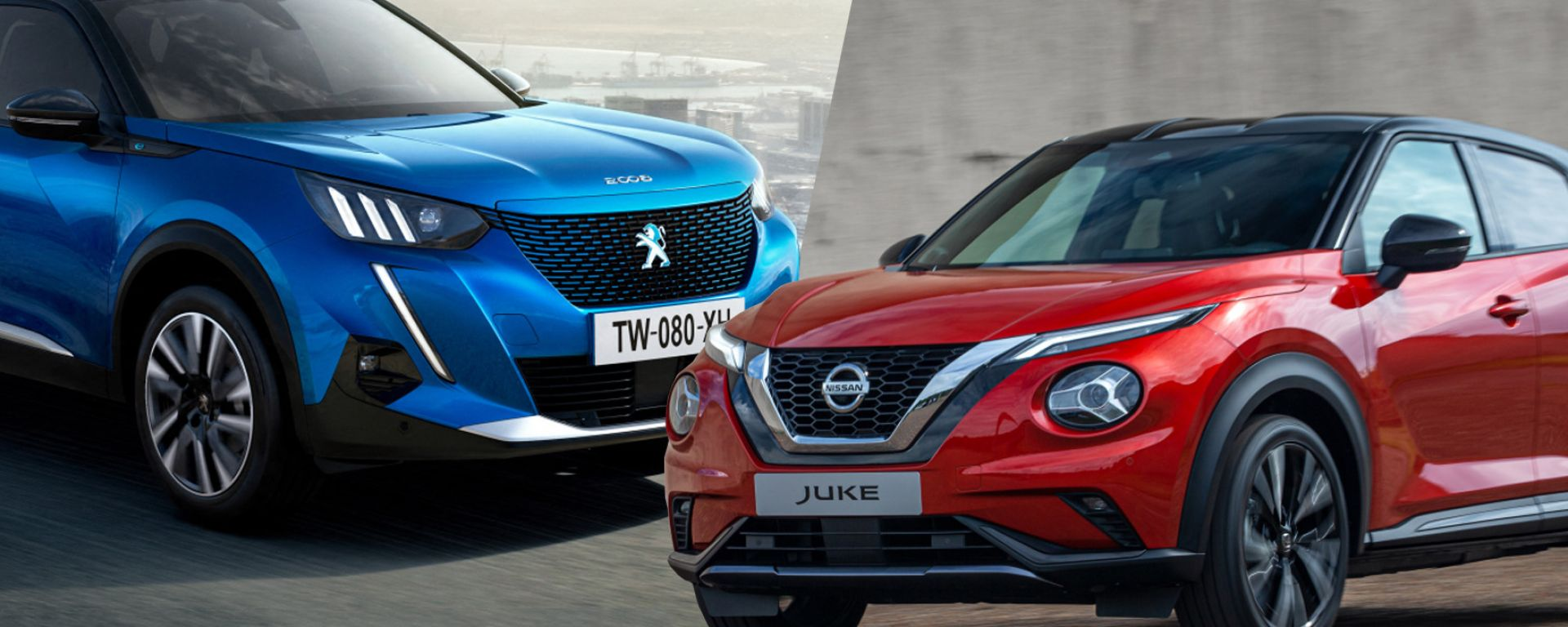 Peugeot 2008 e Nissan Juke 2020 a confronto: il video