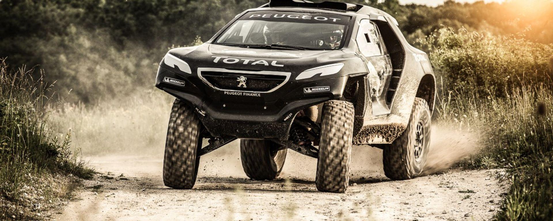 Peugeot 2008 DKR, nuove foto e info