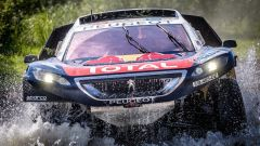 Peugeot 2008 DKR16 - Silk Way Rally 2016
