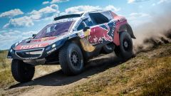 Peugeot 2008 DKR16 vince la 4° tappa del Silk Way Rally 2016