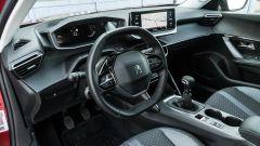 Peugeot 2008, gli interni
