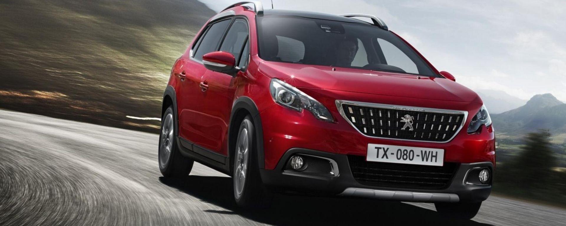 Peugeot 2008, la promo di luglio 2019