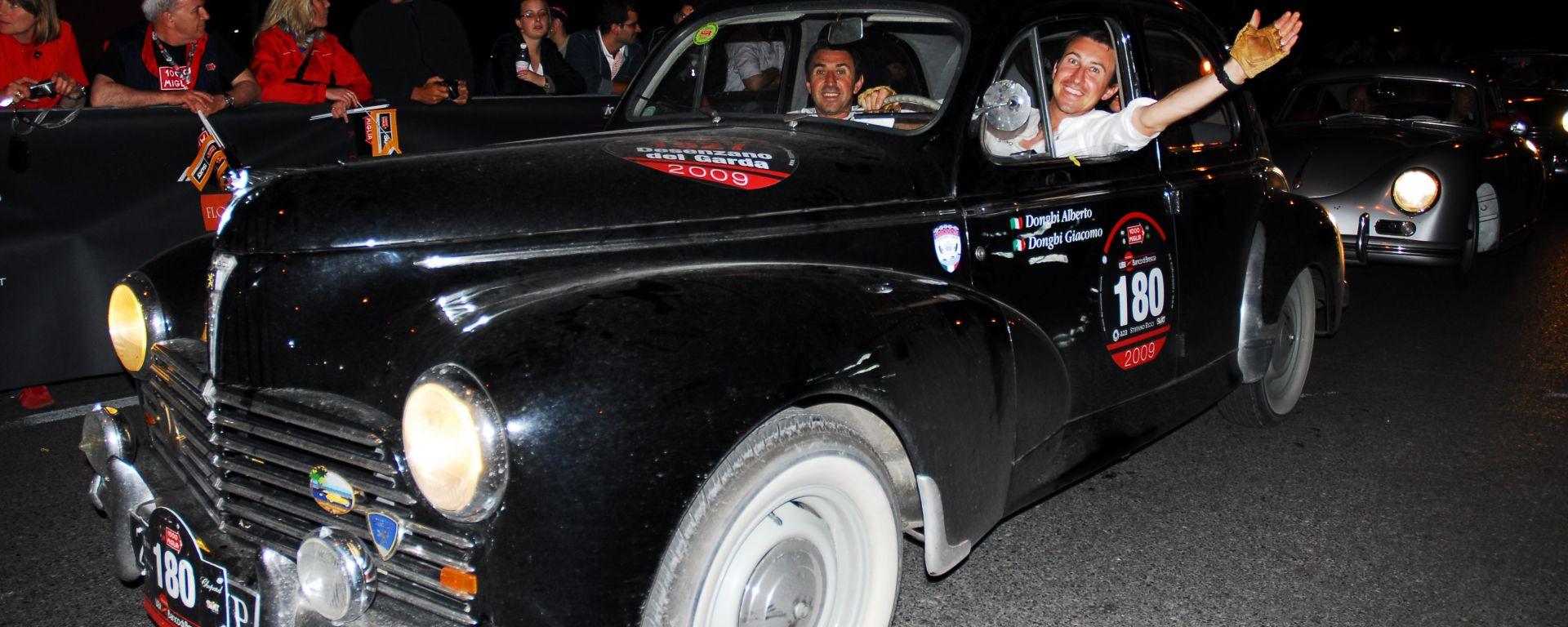 Peugeot 203: La storica Leonessa alla 34^ Mille Miglia Storica