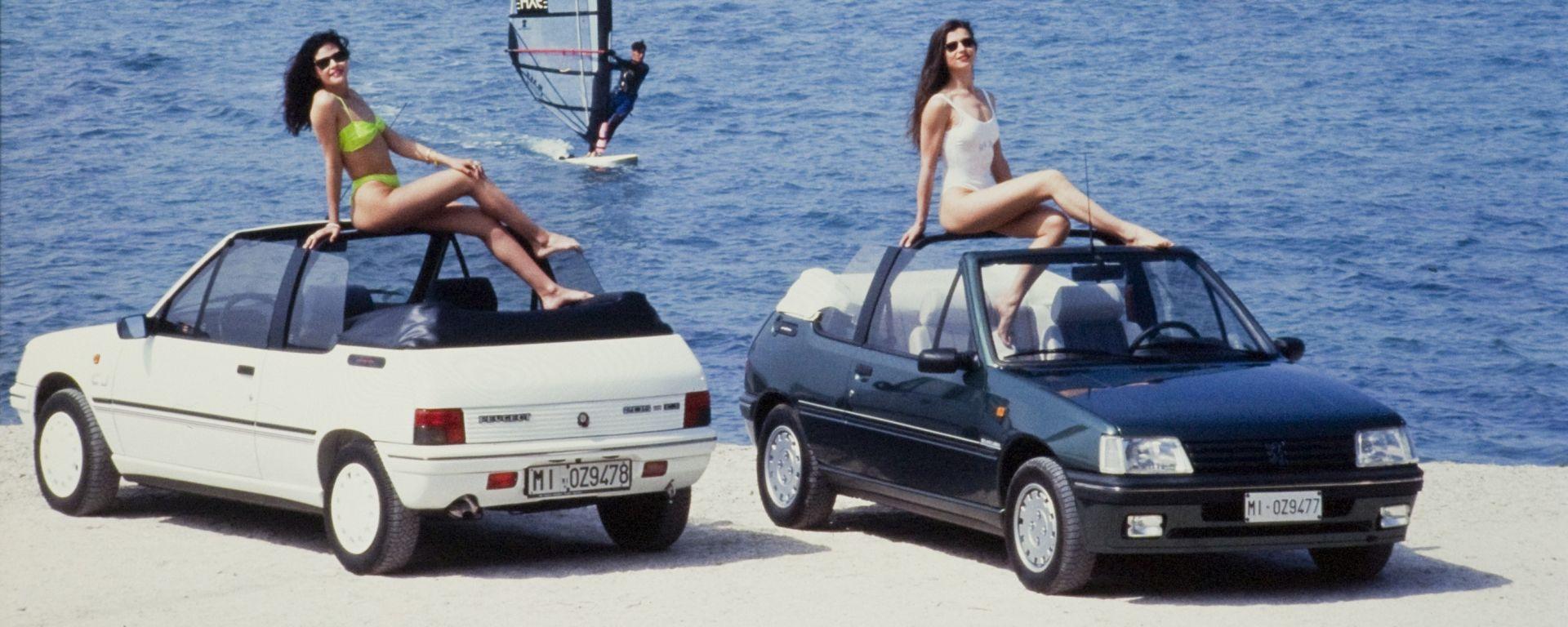 Peugeot 205 Cabriolet compie 30 anni
