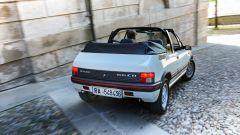 Peugeot 205 Cabriolet: posteriore