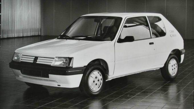 Peugeot 205 full-electric