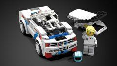 Peugeot 205 T16: tanti dettagli dentro e fuori nel set Lego