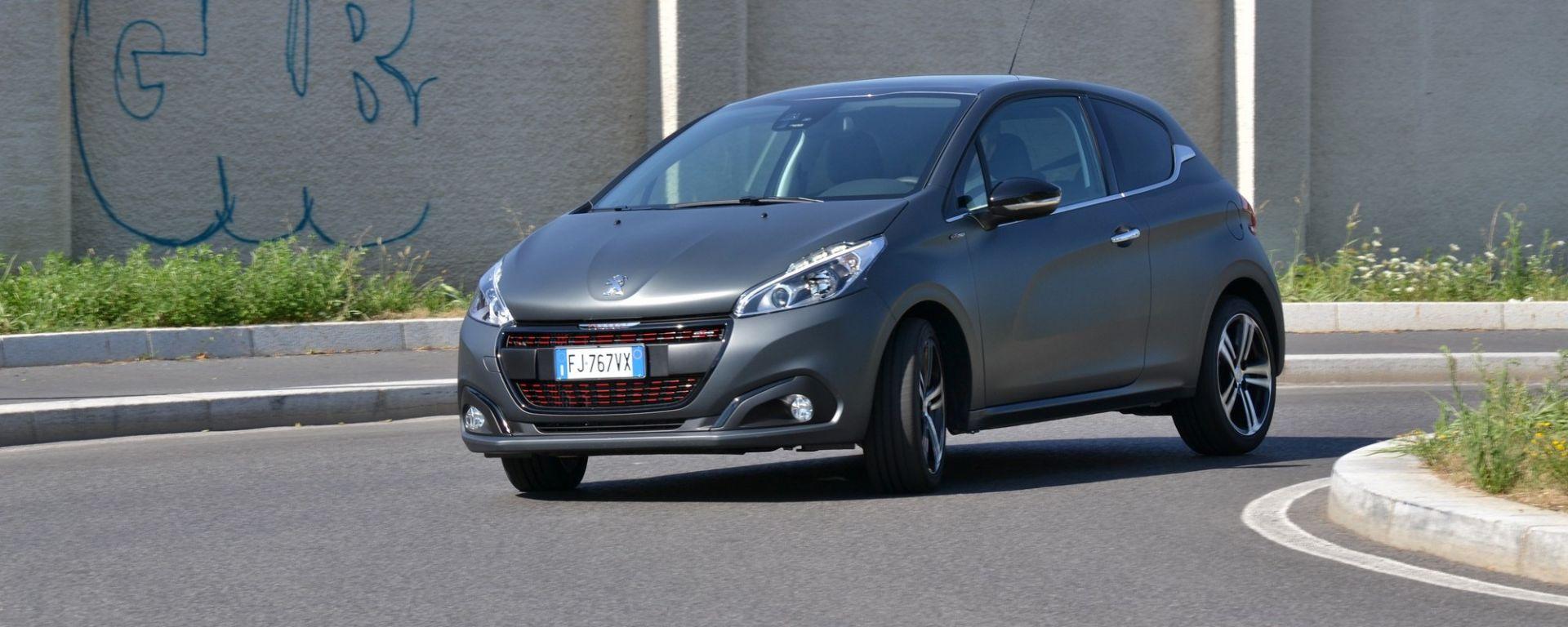 Peugeot 208 1.2 GT Line 110 cv: piccola col numero magico