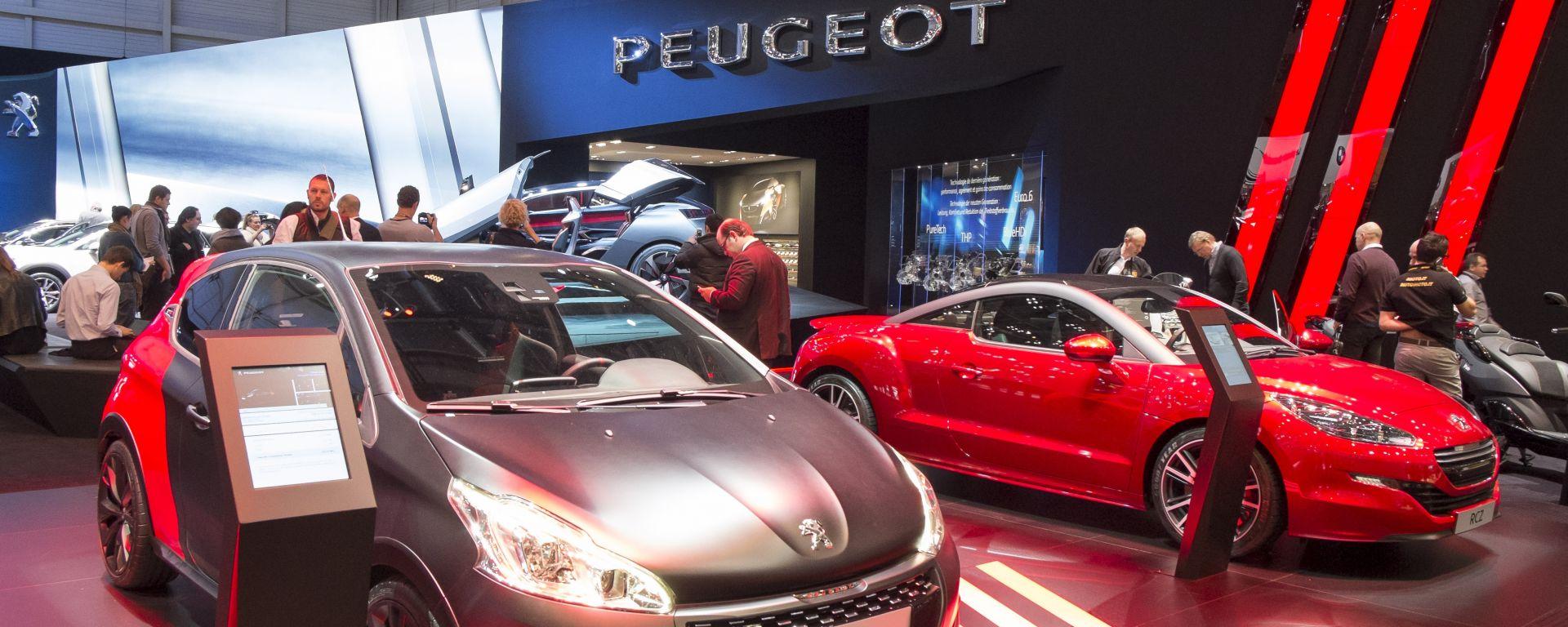 Peugeot 208 2015: il video dallo stand