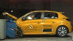 Peugeot 208 2019, 4 stelle Euro NCAP
