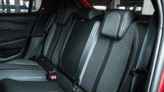 Peugeot 208 2019: i sedili posteriori