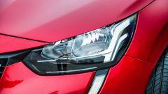 Peugeot 208 2019: il gruppo ottico anteriore