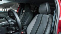 Peugeot 208 2019: il sedile del guidatore