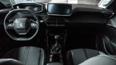 Peugeot 208 2019: la plancia