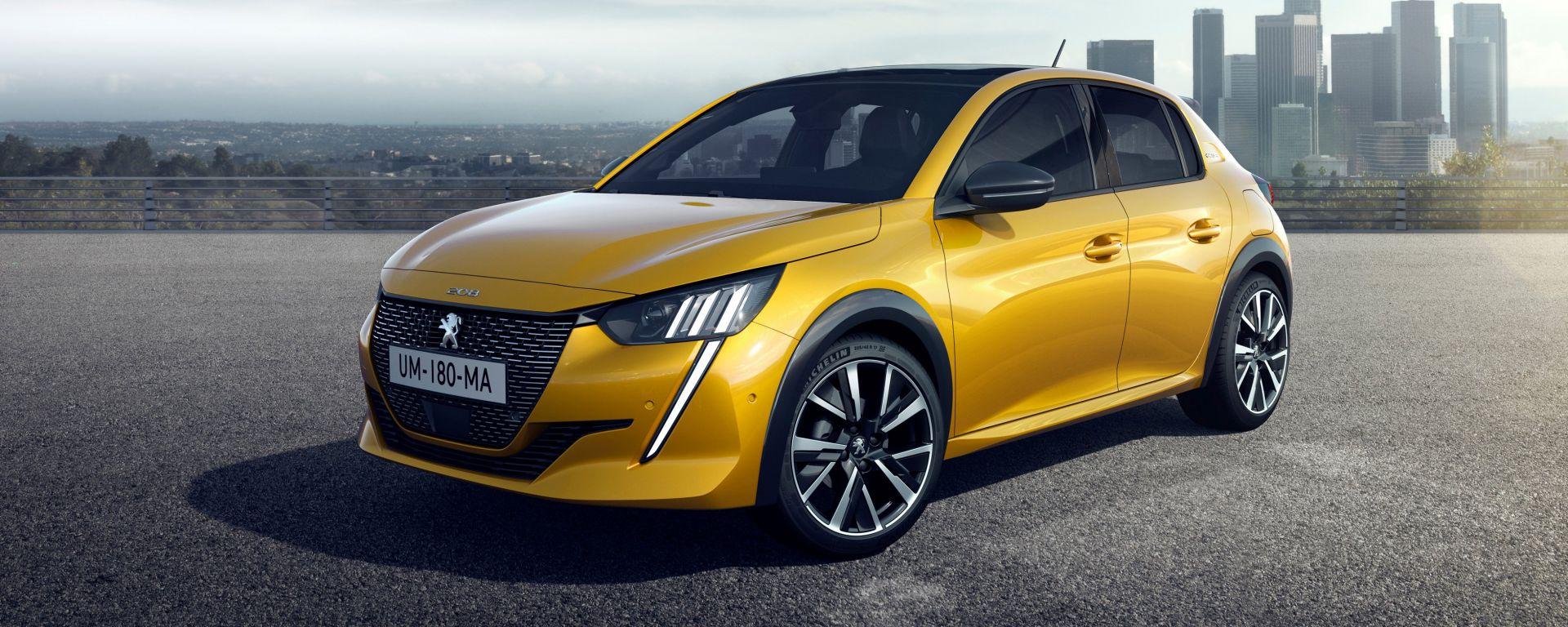 Peugeot 208 Auto dell'anno 2020 da Ginevra