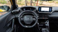 Peugeot 208, gli interni
