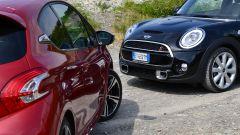 Peugeot 208 GTi vs Mini Cooper S 2014 - Immagine: 5