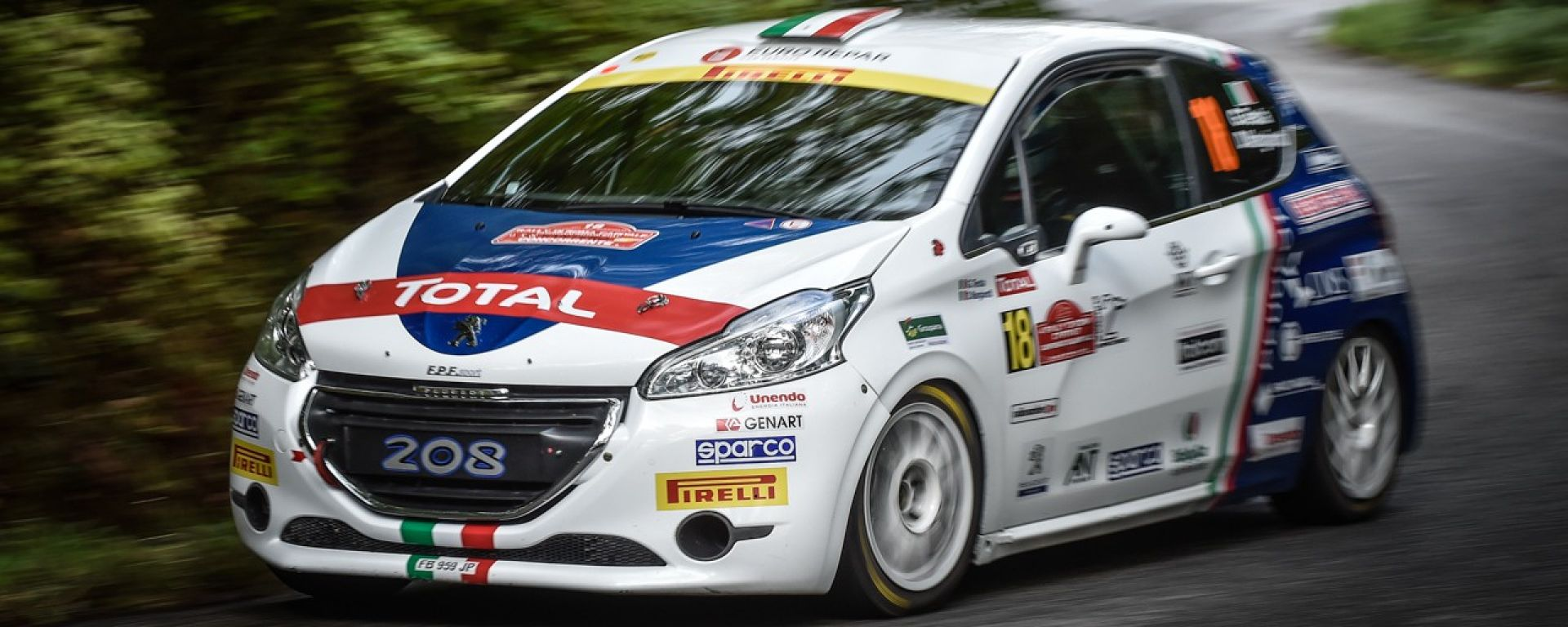 Peugeot 208 Junior - Campionato Italiano Rally 2016