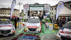 Peugeot 208 Rally Cup Pro - Podio Rally Piancavallo
