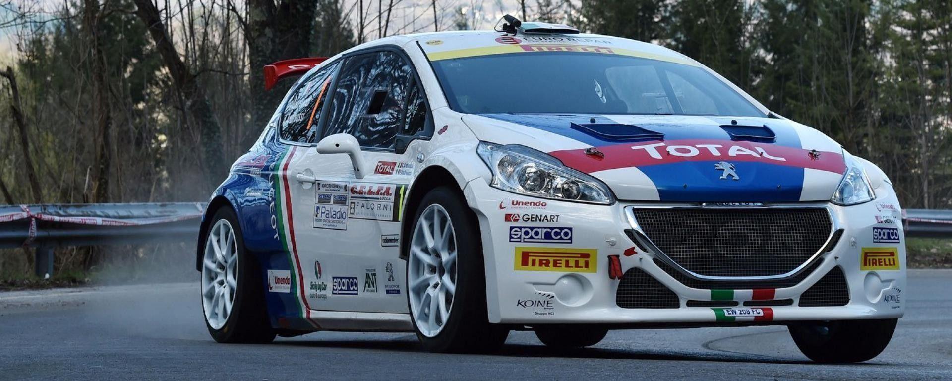 Peugeot 208 T16 - CIR 2016, Rally del Ciocco