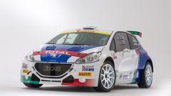 Peugeot 208 T16 sarà guidata da Andreucci e la navigazione sarà di Andreussi