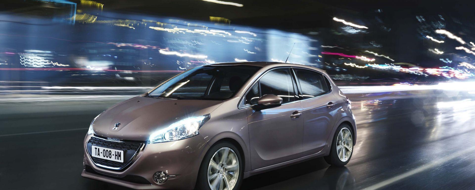 Peugeot 208: le prime foto in HD