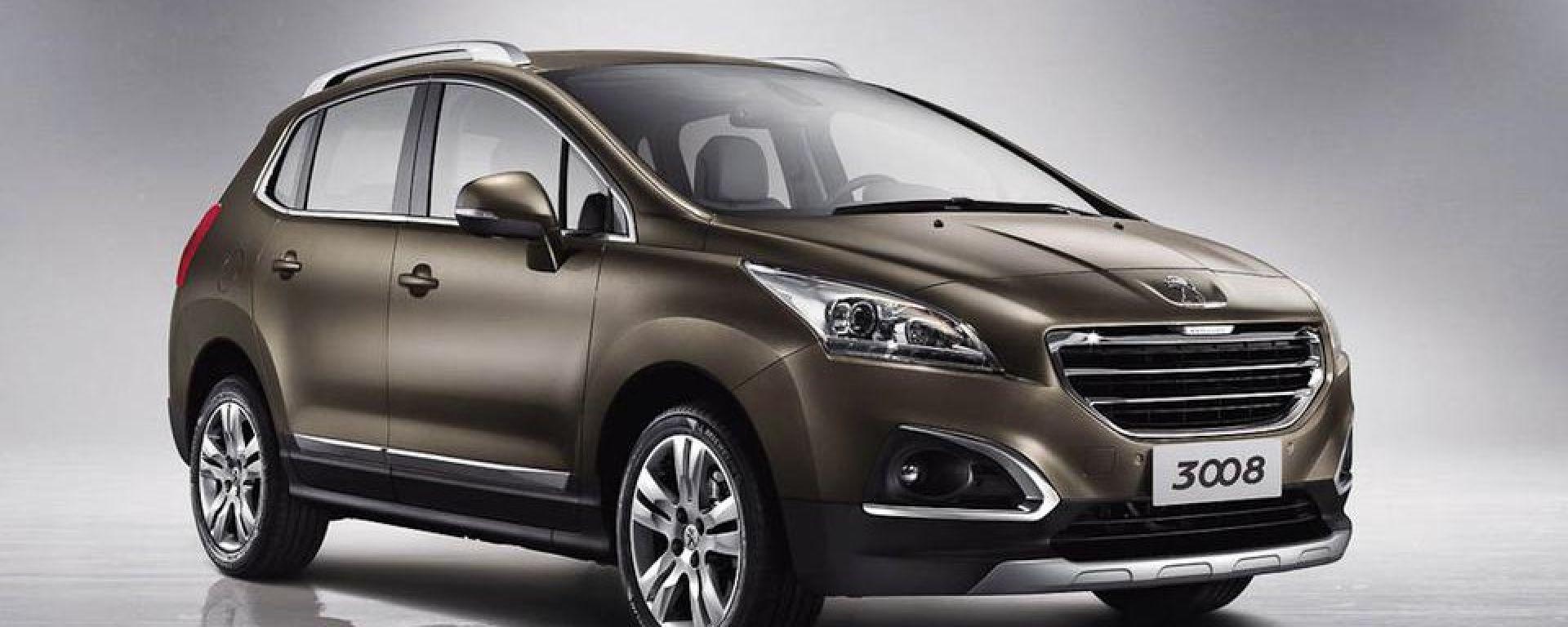 Peugeot 3008 2013: dalla Cina con stupore