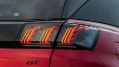 Peugeot 3008 2021, il gruppo ottico posteriore