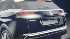 Peugeot 3008 2021, il posteriore