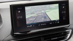 Peugeot 3008 2021, lo schermo touch a centro plancia