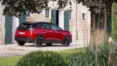 Peugeot 3008 2021, vista 3/4 posteriore