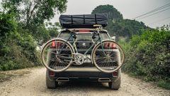 Peugeot 3008: allestimento off-road. Vista posteriore