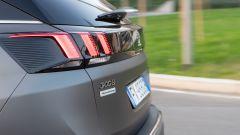 Peugeot 3008 Anniversary: dettaglio gruppi ottici posteriori