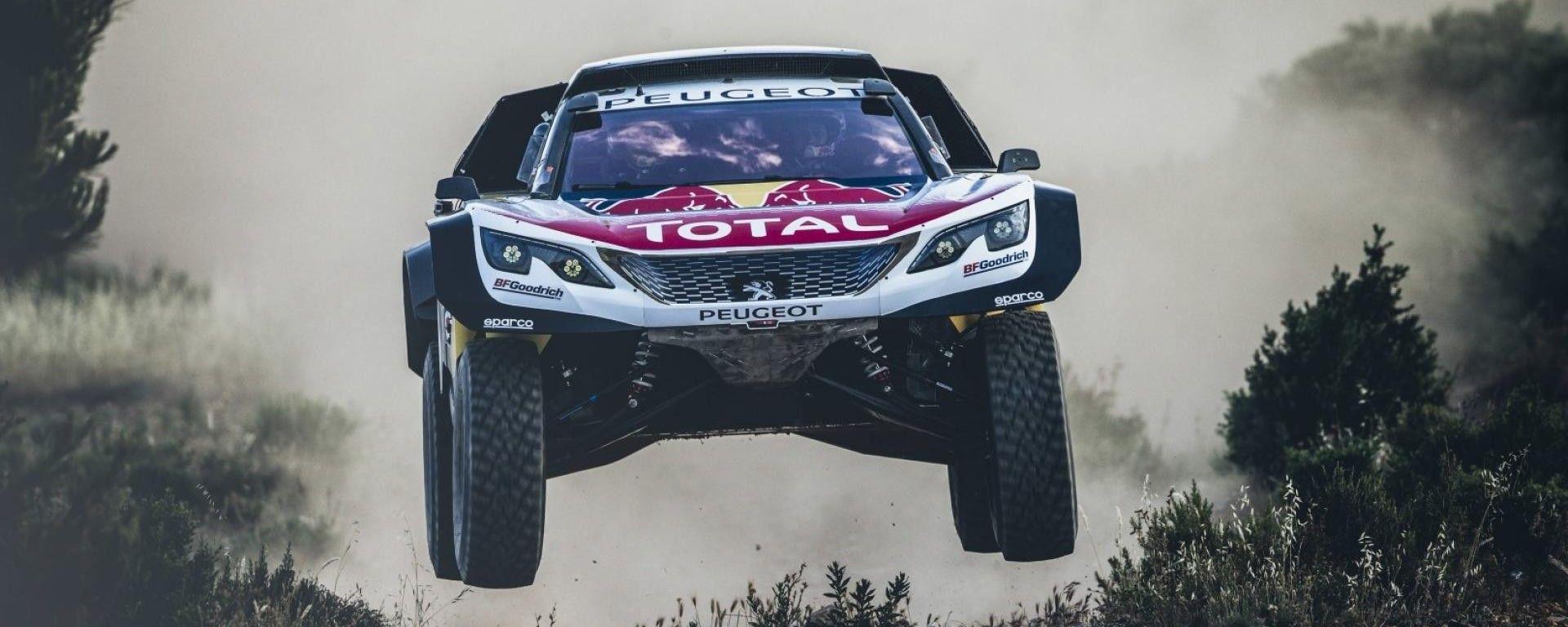 Peugeot 3008 DKR Maxi al Silk Way Rally 2017