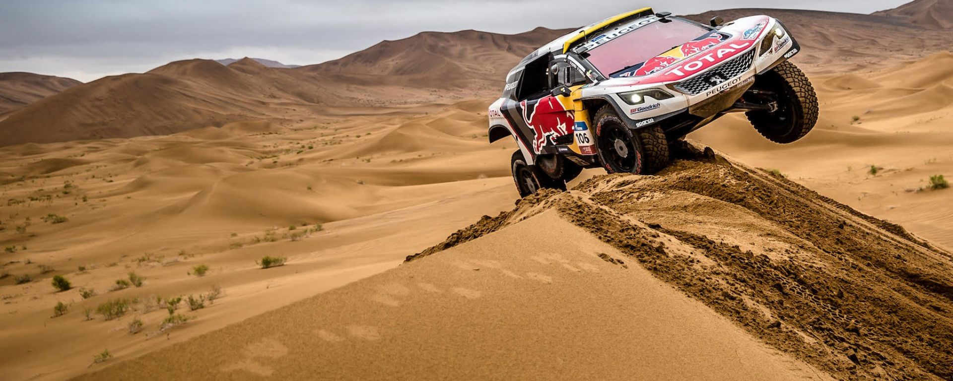 Peugeot 3008 DKR - Peugeot Sport Total, Silk Way Rally