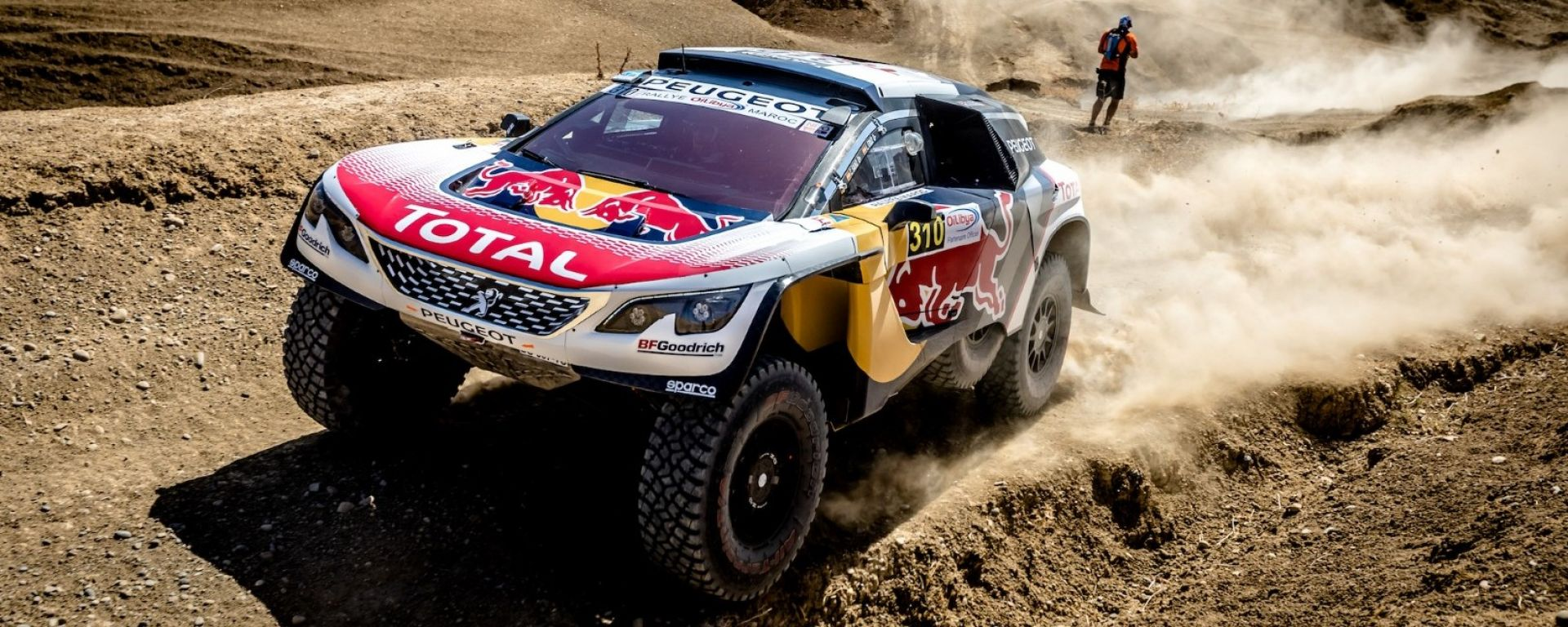 Peugeot 3008 DKR - Rally del Marocco