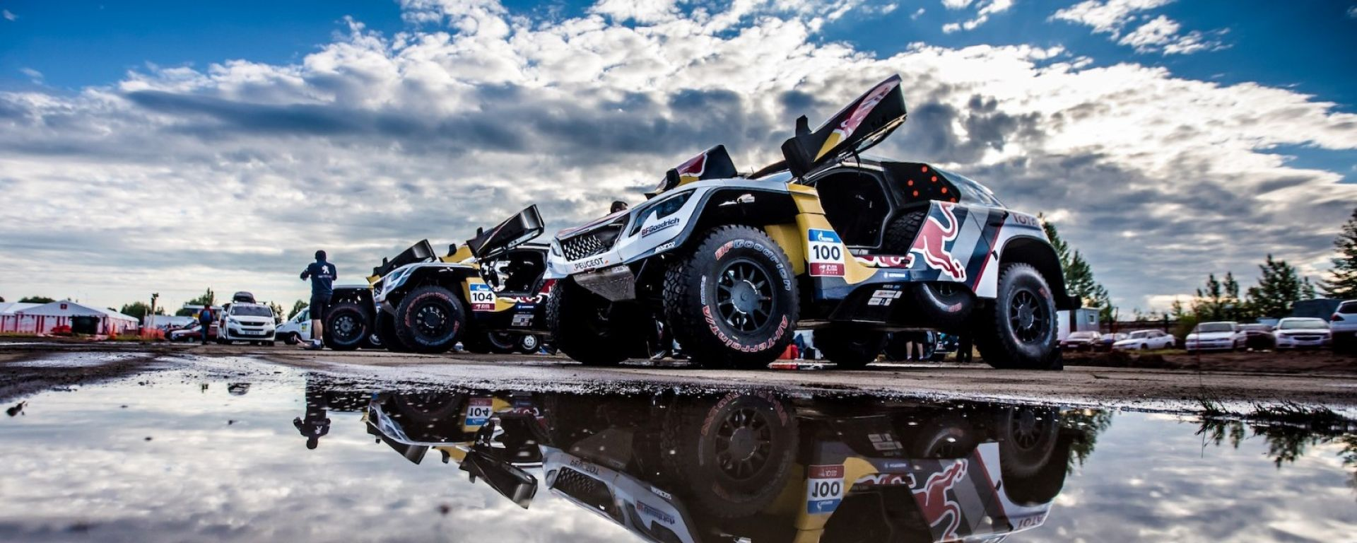 Peugeot 3008 DKR - Silk Way Rally 2017, Giorno 3