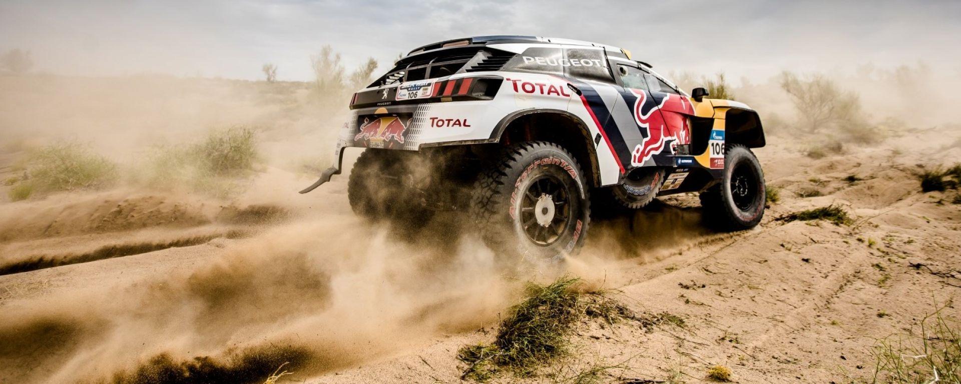 Peugeot 3008 DKR vincitrice del Silk Way Rally 2017