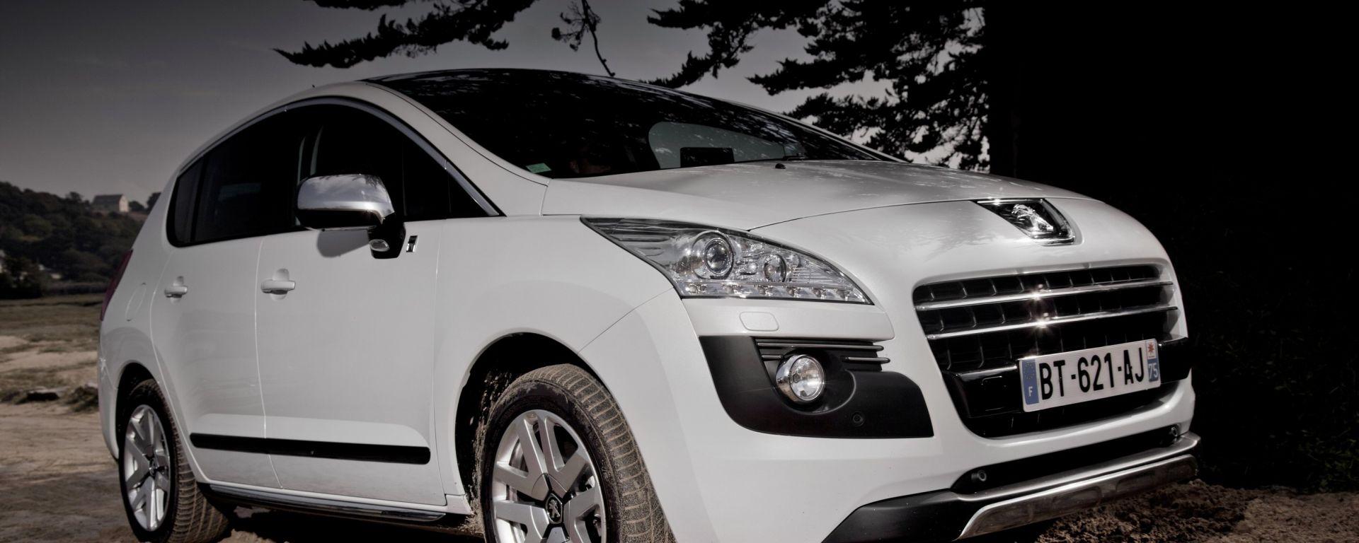 Peugeot 3008 Hybrid4: emissioni a 91 g/km