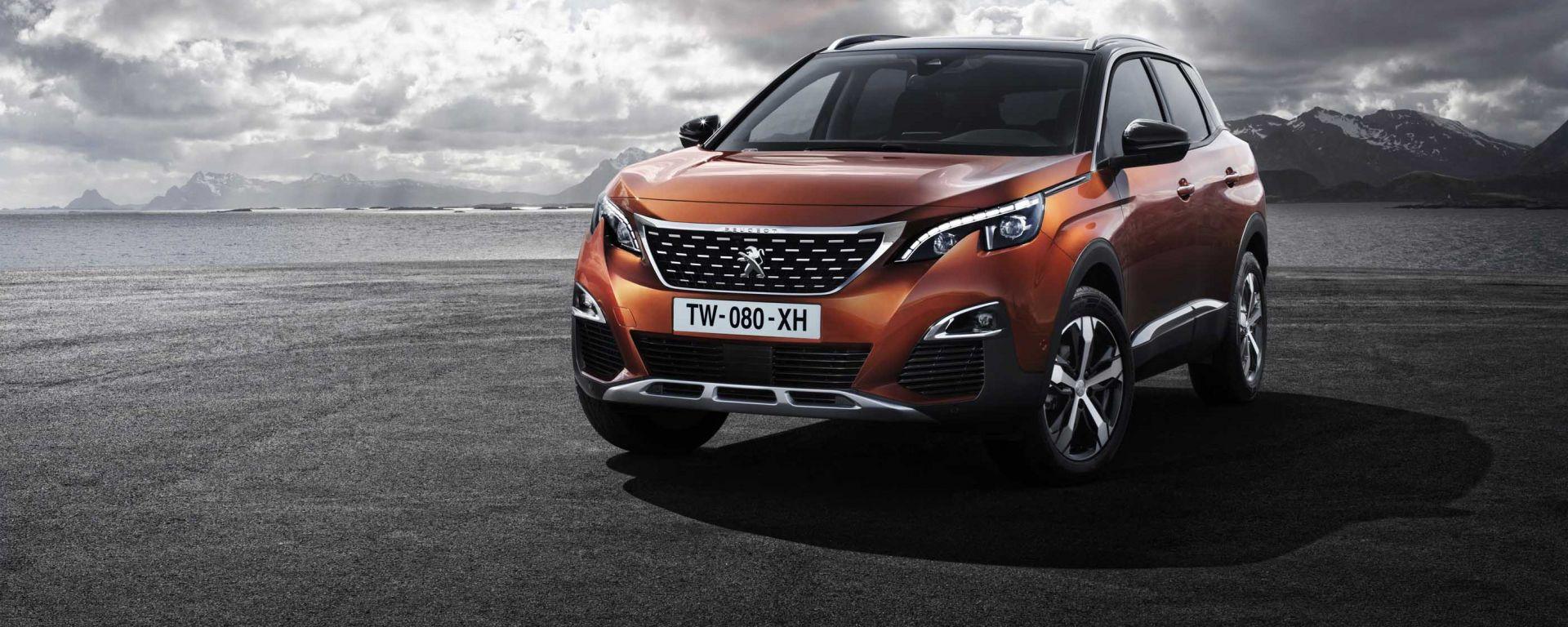 Peugeot 3008: in Italia nuova crossover francese sarà in vendita a partire da 23.150 euro