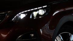 Peugeot 3008: le luci anteriori