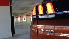 Peugeot 3008: le luci posteriori