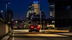 Peugeot 3008, un momento del test di Night Vision