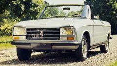 Peugeot 304 cabrio: il frontale