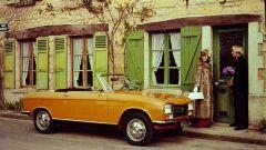 Peugeot 304: una immagine d'epoca della versione cabrio