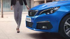 Peugeot 308 2020, dettaglio del frontale